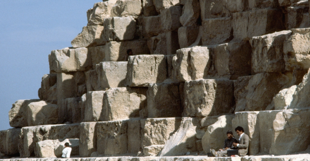 stones of the Great pyramid